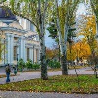 Ноябрь на Соборке. :: Вахтанг Хантадзе
