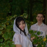 Прогулка под дождём. Красивая Невеста. :: Раскосов Николай