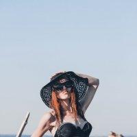 Девушка в шляпе :: Дмитрий Чернов