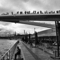 Зарядье. Парящий мост. :: Николай Кондаков
