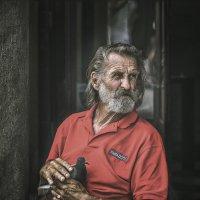 Отдыхающий краковский художник :: Александр Бойко