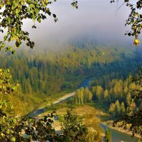 Приподнялась завеса тумана :: Сергей Чиняев