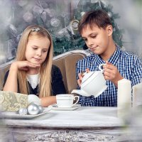 Новогоднее чаепитие :: Наталья Мячикова