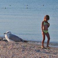 The Box - пляж эмоций. Там утром ранним дети просыпались... :: Александр Резуненко