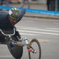 Нью-Йорксий марафон 2017. Паралимпийцы 5 :: Олег Чемоданов