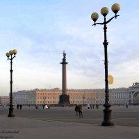 Дворцовая площадь :: Любовь