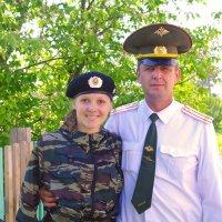 папа с дочкой :: леонид логинов