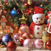 Рождественский праздник. :: Елена Kазак