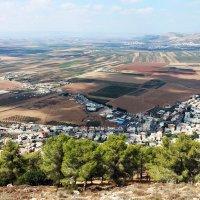 Долина Изреель с видом на город Назарет ..... :: Aleks Ben Israel