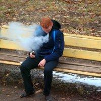 Если вейперу отрезать голову, он еще пять минут будет выпускать пар со вкусом лесных ягод:) :: Андрей Заломленков