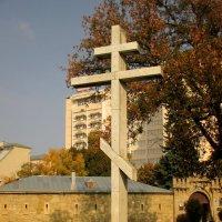 Памятный крест в честь казаков :: Нина Бутко