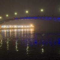 Пешеходный мост через реку Волхов. :: Ольга Лиманская