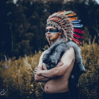индейское племяи :: Кристина Пролыгина