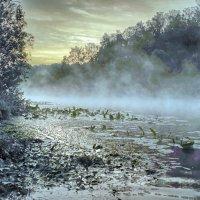 рассвет на реке :: юрий иванов