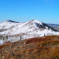 начало весны, вершины гор оттаяли :: vladimir polovnikov