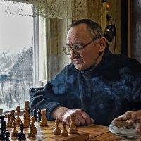 Жизнь - это партия в шахматы. ( Мигель де Сервантес) :: Андрей