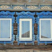 Деревенские окна :: Николай Масляев