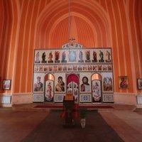 С .Красное  Церковь  Преображения Господня :: ninell nikitina