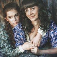 Мать и дочь :: Анаcтасия Ерофеева