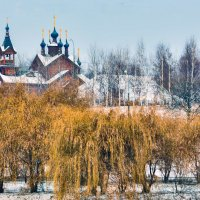Москва. Деревянный храм в Митино. :: В и т а л и й .... Л а б з о'в
