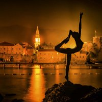 Ночная Будва :: Александр Бойко