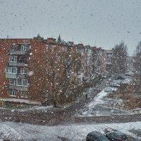 А у нас снег пошёл_) :: Александр Ещенко