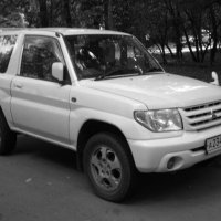 Белый джип Mitsubishi :: Дмитрий Никитин