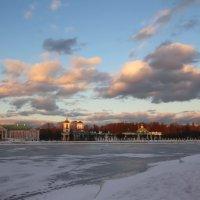 Кусково февральское, закатное :: Александра