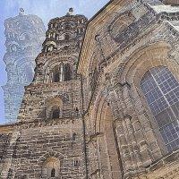 Фантом Храма(собор Бамберг) :: irina Schwarzer
