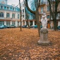 Ноябрь в Пале-Рояле. :: Вахтанг Хантадзе