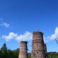 Развалины завода. :: Андрей