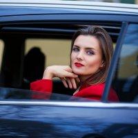 Girl in the car :: Natallia Ritter