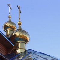 Золотые купола. :: Валентина ツ ღ✿ღ