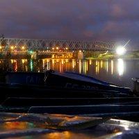 вечер на парковке лодок :: Александр Прокудин