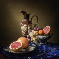 Натюрморт с грейпфрутами :: Ирина Приходько