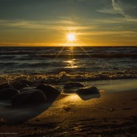 Финский залив; закат :: Ирина Малышева