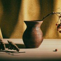 Береза и рябина :: Милоцвета (Александра Баранова)