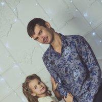 папа и дочка :: Ольга Штанько