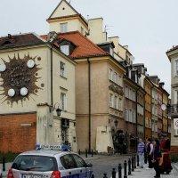 Дом с зодиакальными часами на улице Подвале (Podwale) :: Елена Павлова (Смолова)
