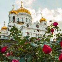 Храм Христа Спасителя г.Москва :: Наталья Васильева