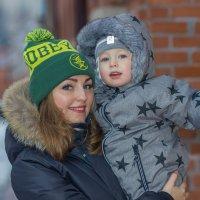 Мама и сын. :: Игорь Воронков