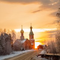 На закате :: Андрей Кузнецов