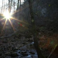 закат в ущелье.... :: Игорь Гарагуля
