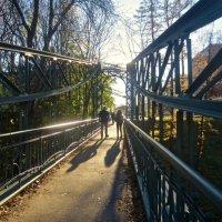 мост Макарова в Кронштадте :: Елена