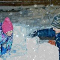 Радость первого снега :: Юлия Ланина