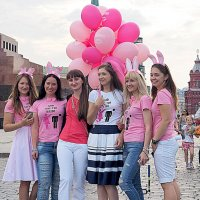 девушки выбирают розовое :: Олег Лукьянов