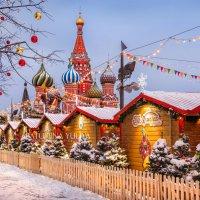 Новогодняя ярмарка на Красной Площади :: Юлия Батурина