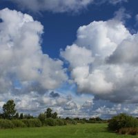 Спешат по небу облака.. :: Татьяна Ивановна