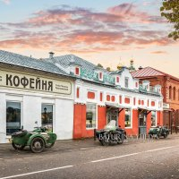 Кофейня Софьи Петровны в Плёсе :: Юлия Батурина