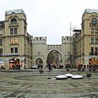Ка́рлсплац - Карлова площадь в центре Мюнхена :: Галина